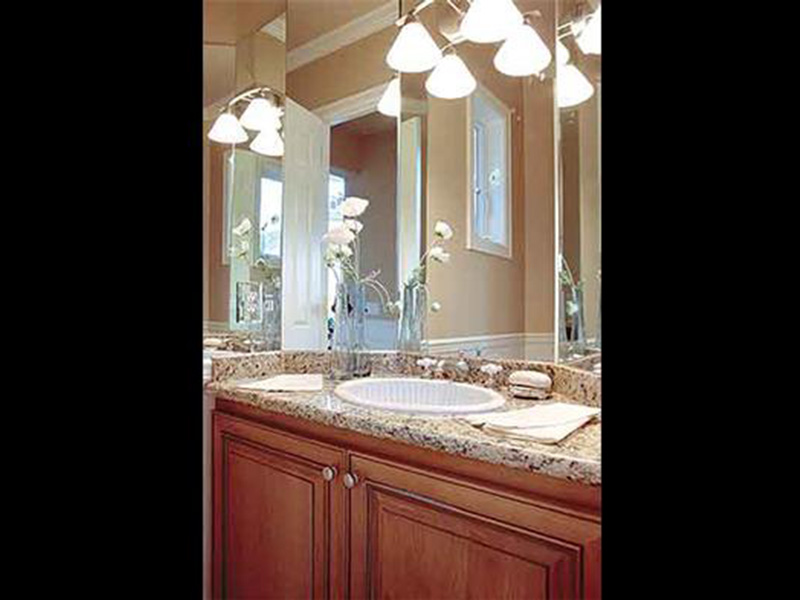 Luxury House Plan Bathroom Photo 02 - Magnolia Place Modern Home 071S-0021 | House Plans and More