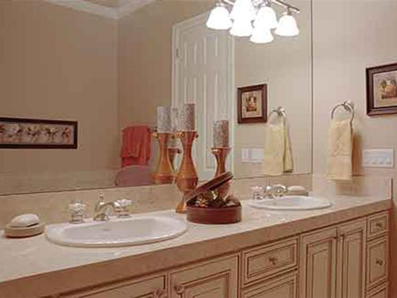 Luxury House Plan Bathroom Photo 03 - Magnolia Place Modern Home 071S-0021 | House Plans and More