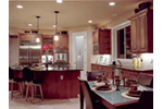 Luxury House Plan Kitchen Photo 01 - Magnolia Place Modern Home 071S-0021 | House Plans and More