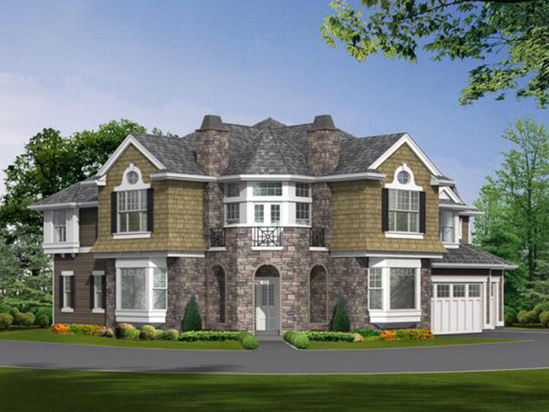 Traditional House Plan Front Image - Anaconda Arts & Crafts Home 071S-0022 | House Plans and More