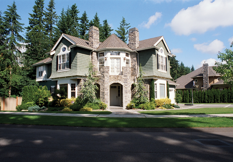 Traditional House Plan Front Photo 07 - Anaconda Arts & Crafts Home 071S-0022 | House Plans and More