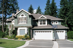Traditional House Plan Rear Garage Photo - Anaconda Arts & Crafts Home 071S-0022 | House Plans and More