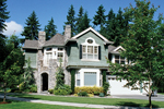 Traditional House Plan Side View Photo 02 - Anaconda Arts & Crafts Home 071S-0022 | House Plans and More