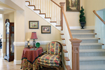 Arts & Crafts House Plan Stairs Photo - Shelley Place Country Farmhouse 071S-0030 | House Plans and More