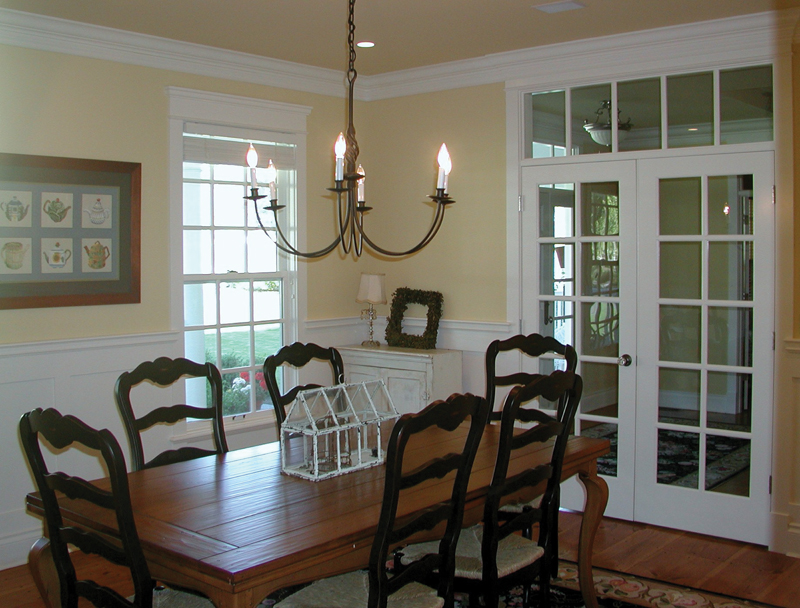 Country House Plan Dining Room Photo 03 - Appiam Way Luxury Country Home 071S-0044 | House Plans and More