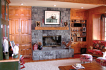 Country House Plan Fireplace Photo 01 - Appiam Way Luxury Country Home 071S-0044 | House Plans and More