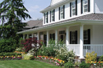 Country House Plan Porch Photo 01 - Appiam Way Luxury Country Home 071S-0044 | House Plans and More