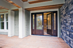 Luxury House Plan Entry Photo 01 - Lydelle Luxury Craftsman Home  | Luxury Craftsman Home Designs
