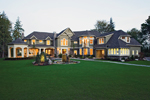 Luxury House Plan Front Photo 02 - Lydelle Luxury Craftsman Home  | Luxury Craftsman Home Designs