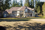 Luxury House Plan Front Photo 03 - Lydelle Luxury Craftsman Home  | Luxury Craftsman Home Designs