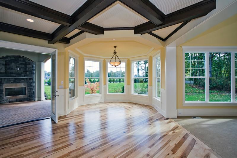 Luxury House Plan Kitchen Photo 07 - Lydelle Luxury Craftsman Home  | Luxury Craftsman Home Designs