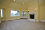 Luxury House Plan Master Bedroom Photo 01 - Lydelle Luxury Craftsman Home  | Luxury Craftsman Home Designs