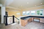 Luxury House Plan Office Photo - Lydelle Luxury Craftsman Home  | Luxury Craftsman Home Designs