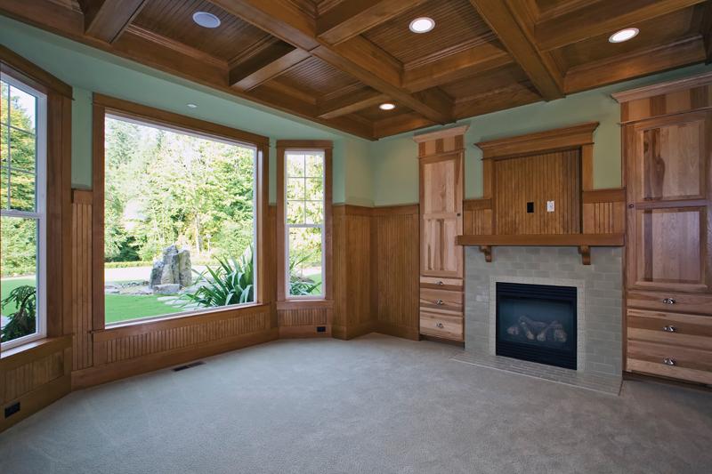 Luxury House Plan Study Photo - Lydelle Luxury Craftsman Home  | Luxury Craftsman Home Designs