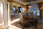 European House Plan Dining Room Photo 01 - Emerald Ridge Luxury Home 071S-0051 | House Plans and More