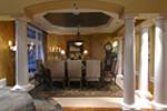 European House Plan Dining Room Photo 02 - Emerald Ridge Luxury Home 071S-0051 | House Plans and More