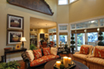 Traditional House Plan Family Room Photo 01 - Emerald Ridge Luxury Home 071S-0051 | House Plans and More