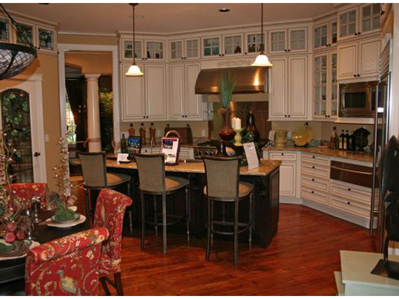 European House Plan Kitchen Photo 02 - Emerald Ridge Luxury Home 071S-0051 | House Plans and More