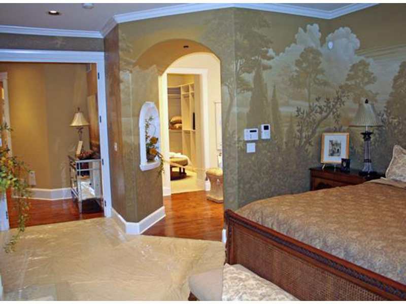 European House Plan Master Bedroom Photo 03 - Emerald Ridge Luxury Home 071S-0051 | House Plans and More