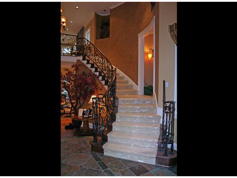 European House Plan Stairs Photo - Emerald Ridge Luxury Home 071S-0051 | House Plans and More