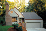 Cabin & Cottage House Plan Front of Home - Angelino Neoclassical Home 072D-0414 | House Plans and More