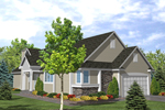 Southern House Plan Front of House 072D-0781