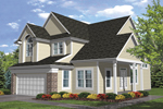 Southern House Plan Front of House 072D-0782