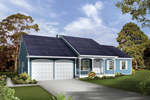 Country House Plan Front of House 072D-1040