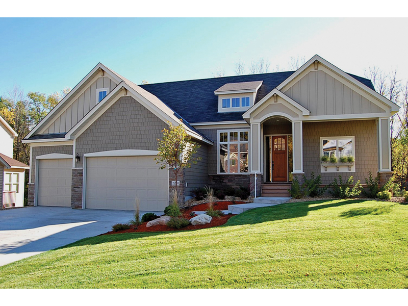 Green Orchard Ranch Home Plan 072d 1108