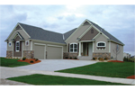Ranch House Plan Front of House 072D-1110