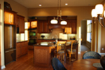 Ranch House Plan Kitchen Photo 03 - Oak Bridge Craftsman Home 072D-1112 | House Plans and More