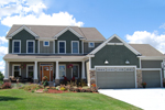 Arts & Crafts House Plan Front Photo of House - Valley Crest Hill Craftsman 072D-1122 | House Plans and More