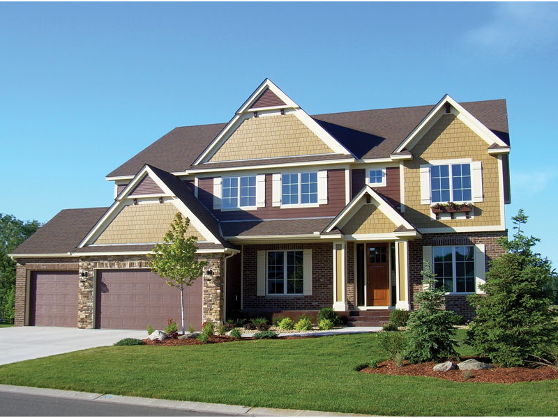 Craftsman Home Designs | Annapolis Luxury Craftsman Home Plan 072s 0002 House Plans