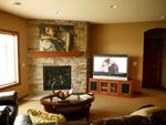 Arts & Crafts House Plan Family Room Photo 01 - Edsel Arts And Crafts Home 072S-0003 | House Plans and More