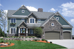 Luxurious Arts & Crafts Style Two-Story With European Flair