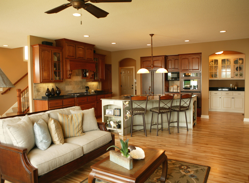 Arts & Crafts House Plan Kitchen Photo 01 - Edsel Arts And Crafts Home 072S-0003 | House Plans and More