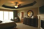 Arts & Crafts House Plan Master Bedroom Photo 02 - Edsel Arts And Crafts Home 072S-0003 | House Plans and More