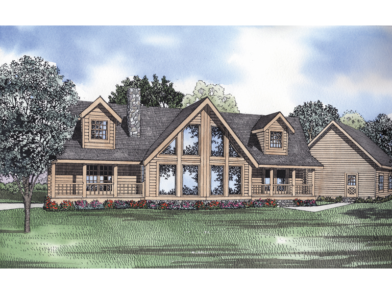 Favorable A-Frame Design With Symmetrical Style