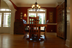 Luxury House Plan Dining Room Photo 02 - Lemonwood Arts And Crafts Home 076D-0204 | House Plans and More