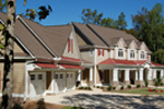 Luxury House Plan Front Photo 03 - Lemonwood Arts And Crafts Home 076D-0204 | House Plans and More