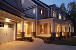 Luxury House Plan Front Photo 04 - Lemonwood Arts And Crafts Home 076D-0204 | House Plans and More
