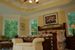 Luxury House Plan Master Bedroom Photo 03 - Lemonwood Arts And Crafts Home 076D-0204 | House Plans and More