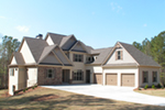 Craftsman House Plan Front Of House 076D-0214