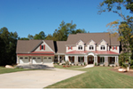 Traditional House Plan Front Of House 076D-0226