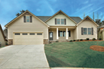 Craftsman House Plan Front Of House 076D-0241