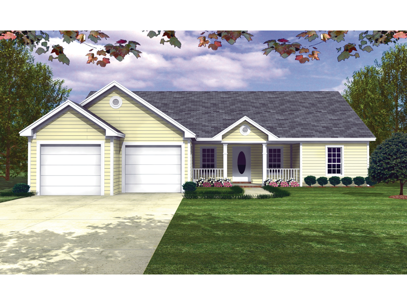 Girasol Ranch Home Plan 077d 0024 House Plans And More