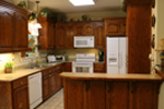 Country House Plan Kitchen Photo 01 - Ryegate Ranch Home 077D-0037 | House Plans and More
