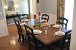 Traditional House Plan Dining Room Photo 01 - Haddonfield Country Home 077D-0097 | House Plans and More