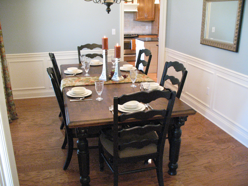 Traditional House Plan Dining Room Photo 02 - Haddonfield Country Home 077D-0097 | House Plans and More