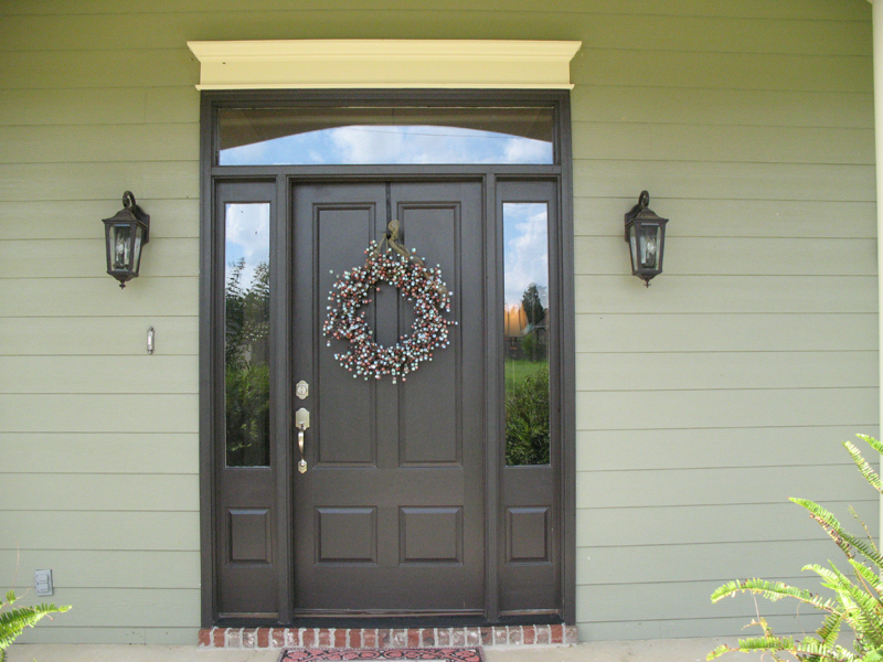 Traditional House Plan Door Detail Photo - Haddonfield Country Home 077D-0097 | House Plans and More